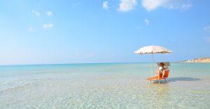 spiaggia di un hotel nel Salento
