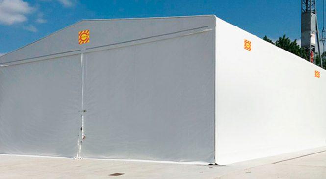 L'azienda Campisa aggiunge le coperture mobili ai prodotti dedicati al comparto logistico